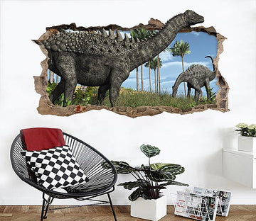 3D Huge Dinosaurs 159 Broken Wall Murals Wallpaper AJ Wallpaper