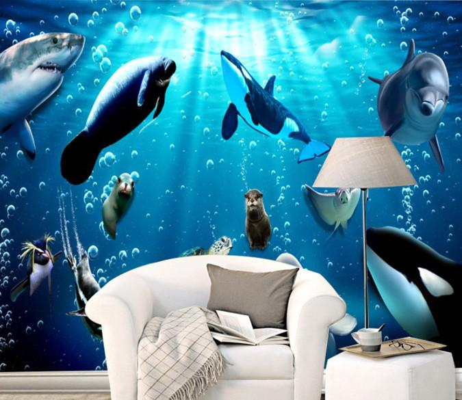 Sea Animals Wallpaper AJ Wallpaper
