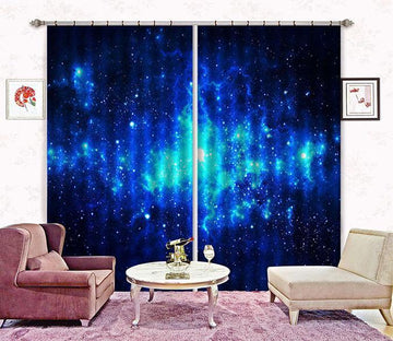 3D Shiny Stars Sky 2319 Curtains Drapes Wallpaper AJ Wallpaper