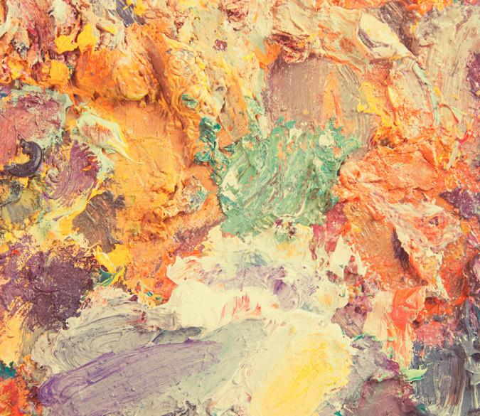 Colored Pigments Painting Wallpaper AJ Wallpaper