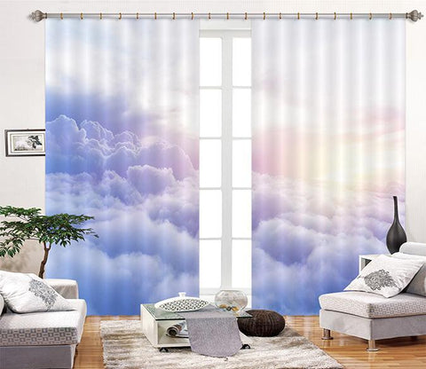 3D Rolling Clouds 2414 Curtains Drapes Wallpaper AJ Wallpaper