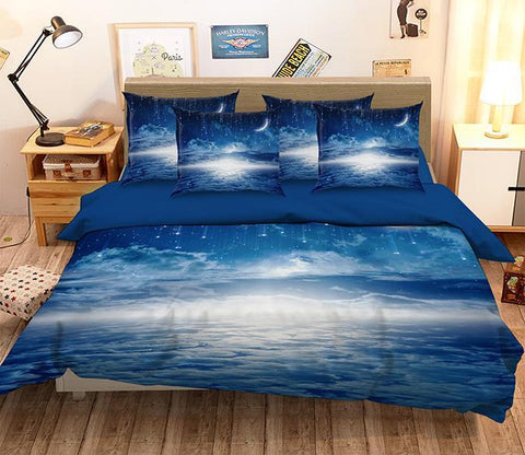 3D Pretty Stars Sky 126 Bed Pillowcases Quilt Wallpaper AJ Wallpaper