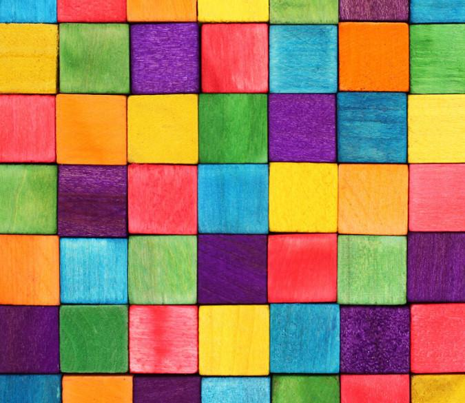 Colorful Squares 1 Wallpaper AJ Wallpaper