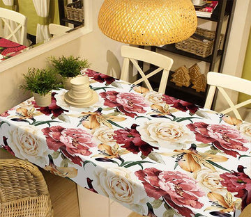 3D Various Flowers 339 Tablecloths Wallpaper AJ Wallpaper