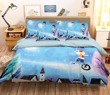 3D Lovely Clown 150 Bed Pillowcases Quilt Wallpaper AJ Wallpaper