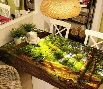 3D Forest Road 20 Tablecloths Wallpaper AJ Wallpaper