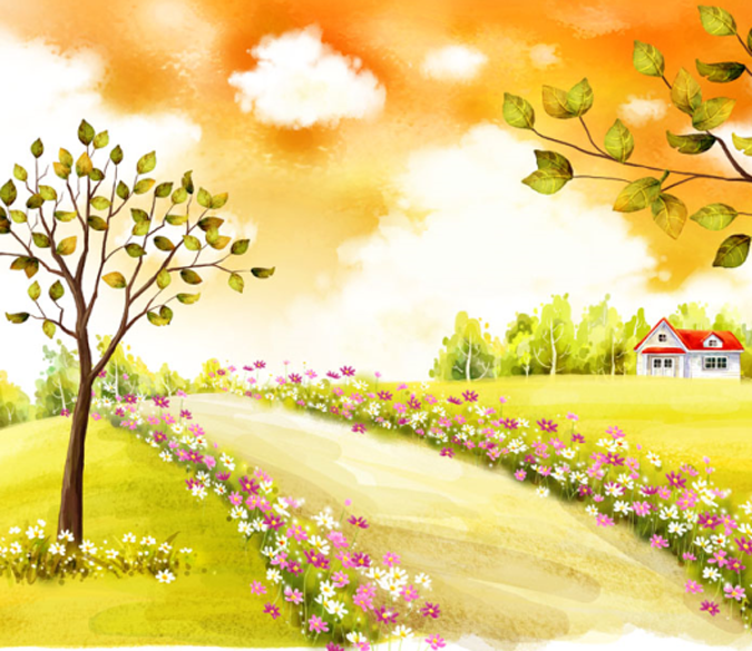 Roadside Scenery 1 Wallpaper AJ Wallpaper