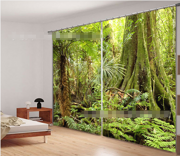 3D Thick Forest 1122 Curtains Drapes Wallpaper AJ Wallpaper