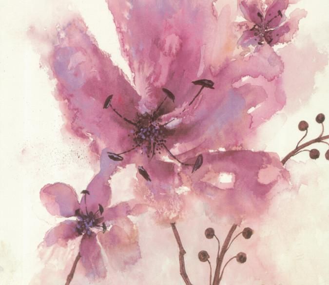 Watercolor Flowers 1 Wallpaper AJ Wallpaper