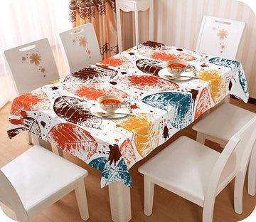 3D Leaves Pattern 200 Tablecloths Wallpaper AJ Wallpaper