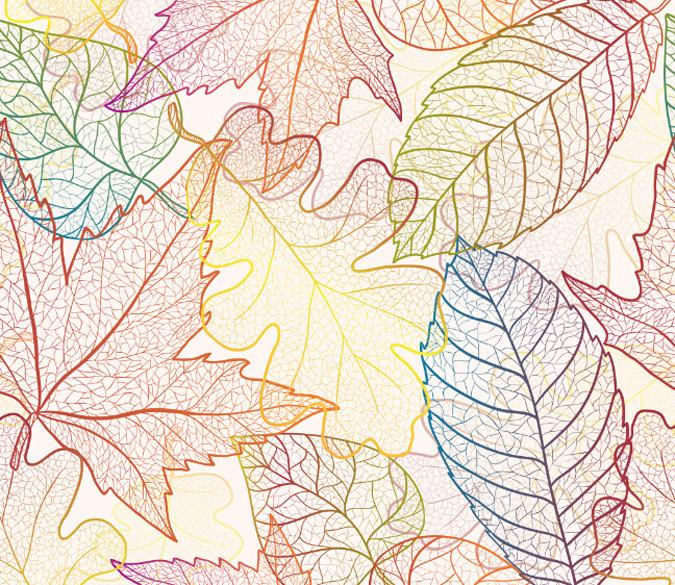 Colored Leaf Veins Wallpaper AJ Wallpaper