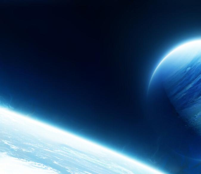 Blue Planets Wallpaper AJ Wallpaper