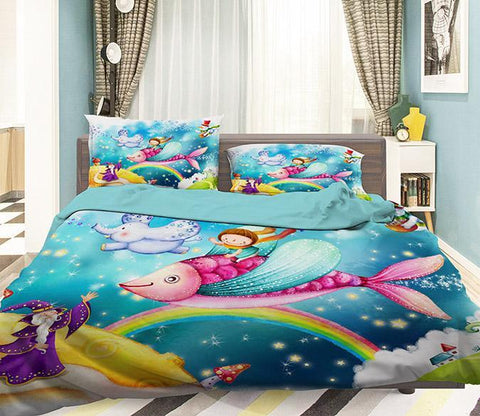 3D Magic Dreamland 335 Bed Pillowcases Quilt Wallpaper AJ Wallpaper
