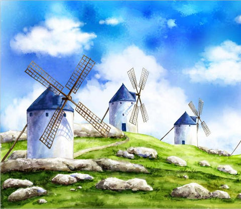 Windmills Wallpaper AJ Wallpaper
