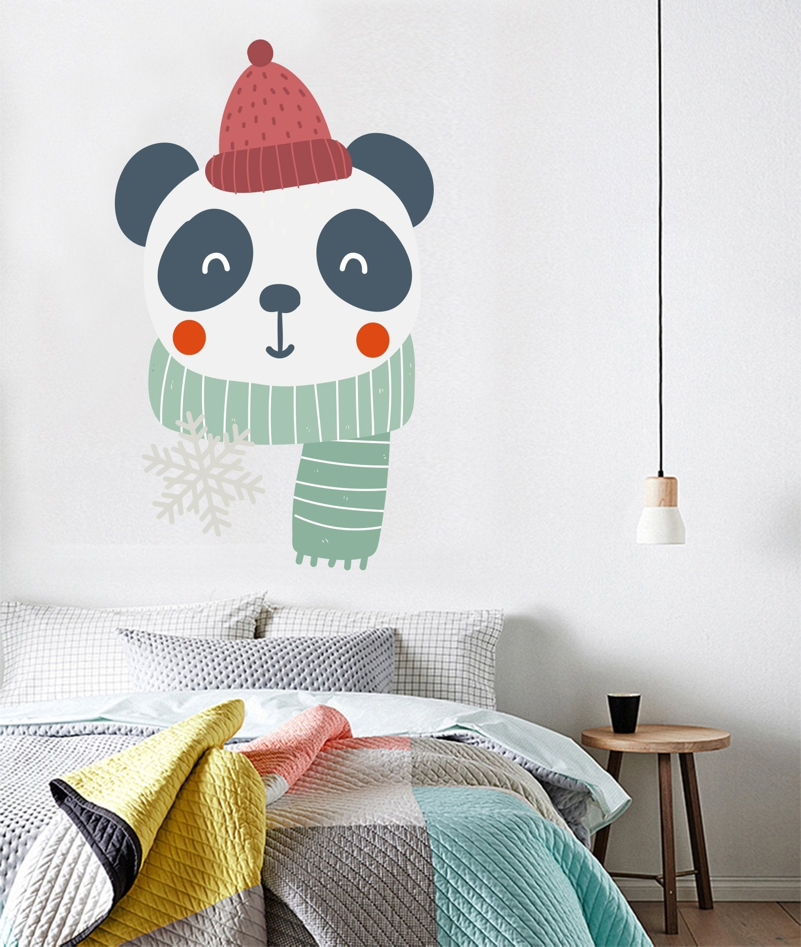 3D Cartoon Panda 115 Wall Stickers Wallpaper AJ Wallpaper