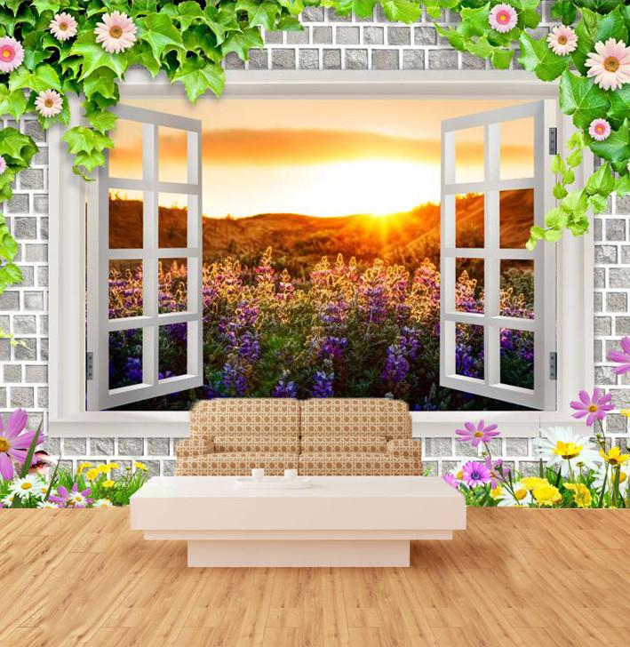 Sunset Out Of The Window 65 Wallpaper AJ Wallpaper 1
