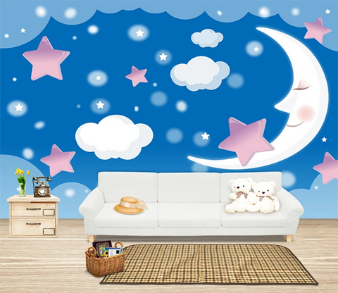 3D Crescent Moon 821 Wallpaper AJ Wallpaper 2