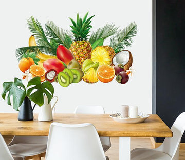 3D Delicious Fruit 019 Wall Stickers Wallpaper AJ Wallpaper