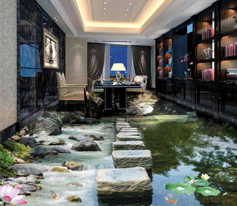 3D Stepping Stone 312 Floor Mural