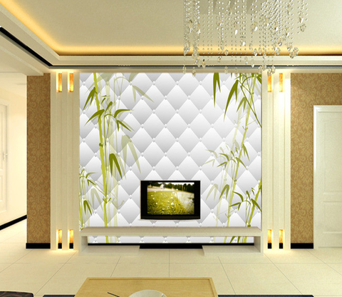 3D Bamboo Painting 008 Wallpaper AJ Wallpaper
