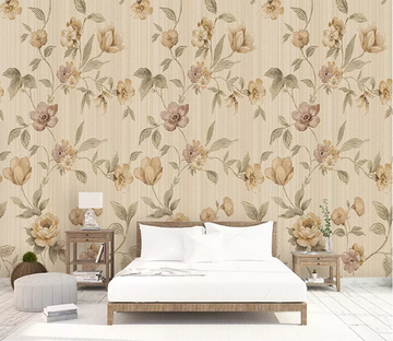 3D Floral Pattern 1579 Wallpaper AJ Wallpaper 2