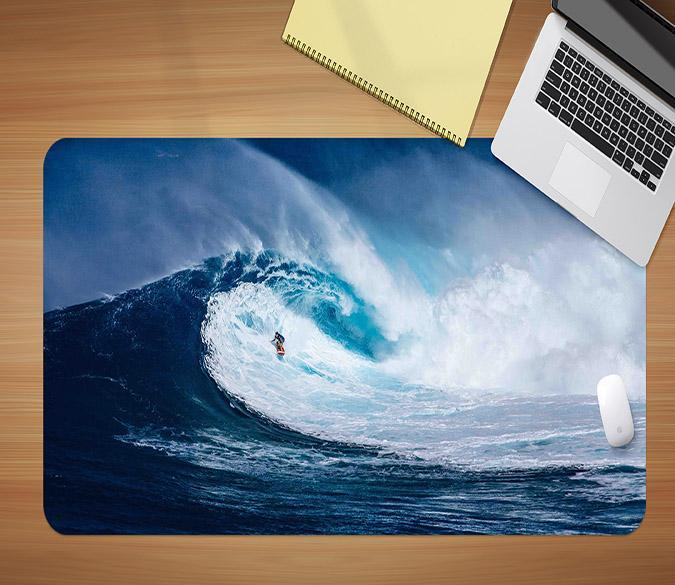 3D Surfing Tour 130 Desk Mat Mat AJ Creativity Home
