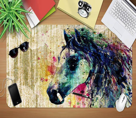 3D Painted Horse 119 Desk Mat Mat AJ Creativity Home