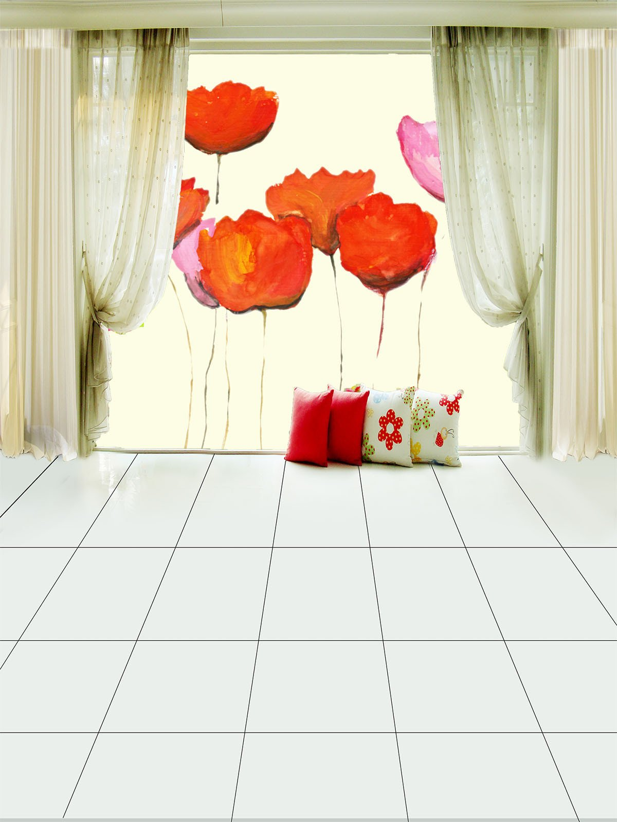 Flowers Painting 1 Wallpaper AJ Wallpaper