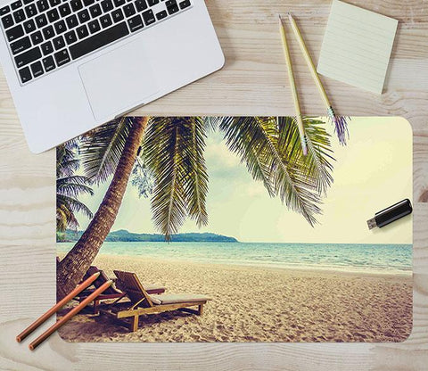 3D Lounger Coconut 026 Desk Mat Mat AJ Creativity Home