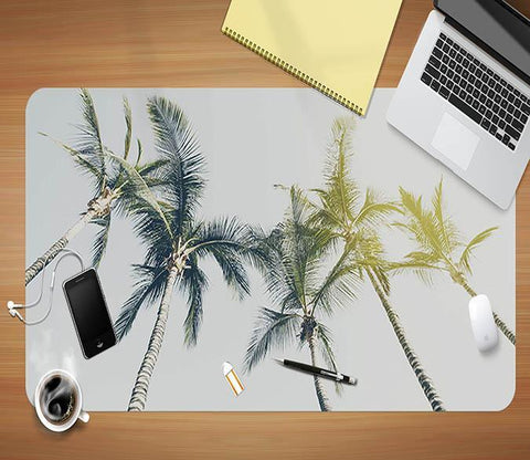 3D Coconut Tree 012 Desk Mat Mat AJ Creativity Home