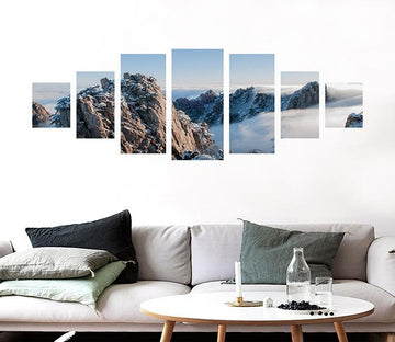 3D Beautiful Mountaine 039 Unframed Print Wallpaper Wallpaper AJ Wallpaper