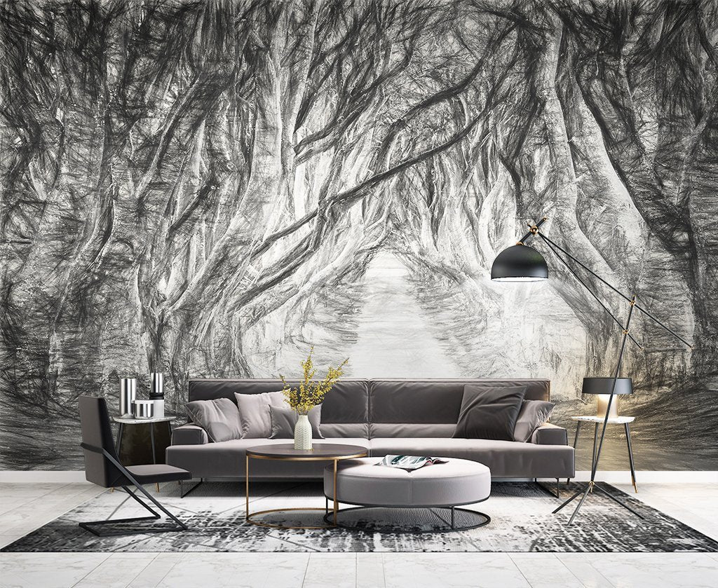 3D Branch 100 Wall Murals Wallpaper AJ Wallpaper 2