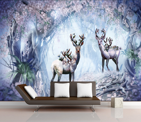 3D Beautiful Deer 514