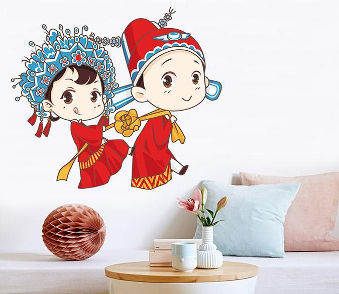 3D Phoenix Crown 014 Wall Stickers Wallpaper AJ Wallpaper
