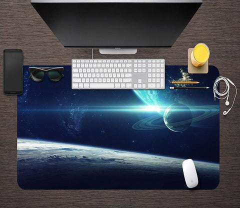 3D Earth Galaxy 056 Desk Mat Mat AJ Creativity Home