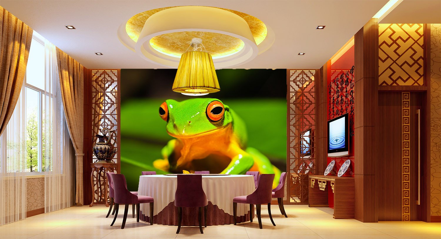 Green Frog 1 Wallpaper AJ Wallpaper