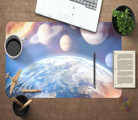 3D Earth Planet 058 Desk Mat Mat AJ Creativity Home
