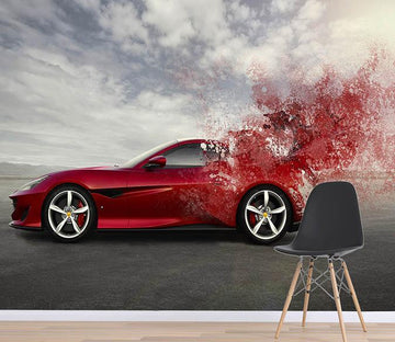 3D Red Car 120 Wallpaper AJ Wallpaper