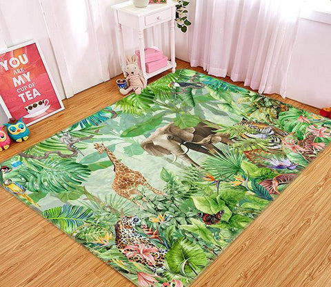 3D Painting Animal 653 Non Slip Rug Mat Mat AJ Creativity Home