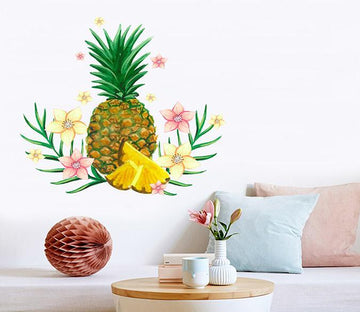 3D Pineapple Banana 229 Wall Stickers Wallpaper AJ Wallpaper