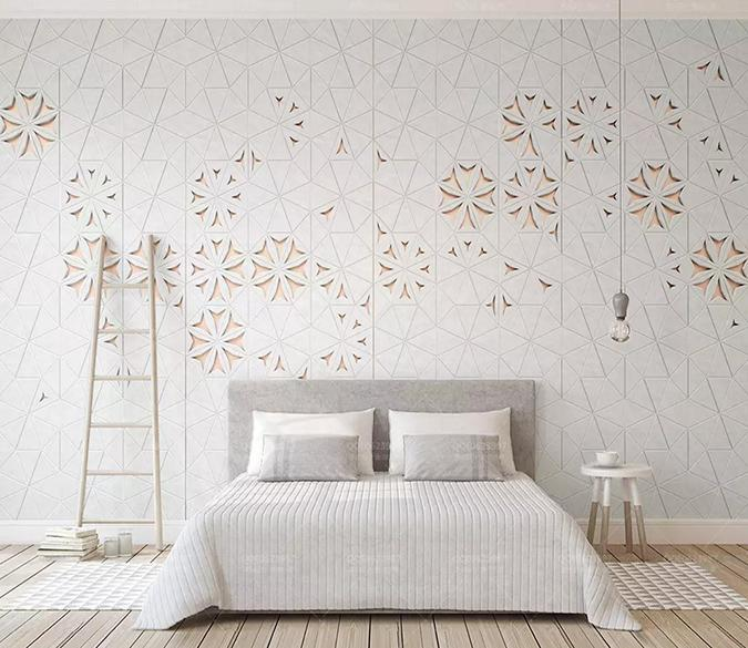 3D White Pattern 323 Wallpaper AJ Wallpaper