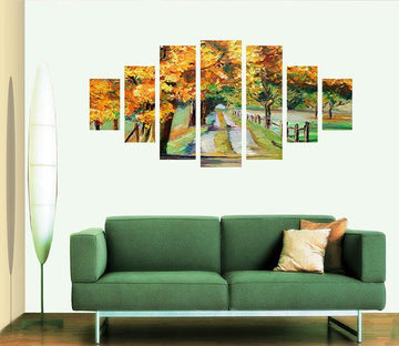 3D Oil Painting 017 Unframed Print Wallpaper Wallpaper AJ Wallpaper