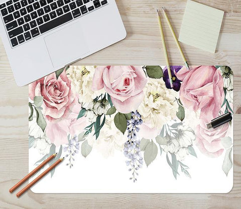 3D Flower Ring 204 Desk Mat Mat AJ Creativity Home