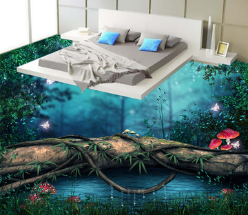 3D Beautiful Painting 148 Floor Mural Wallpaper AJ Wallpaper 2