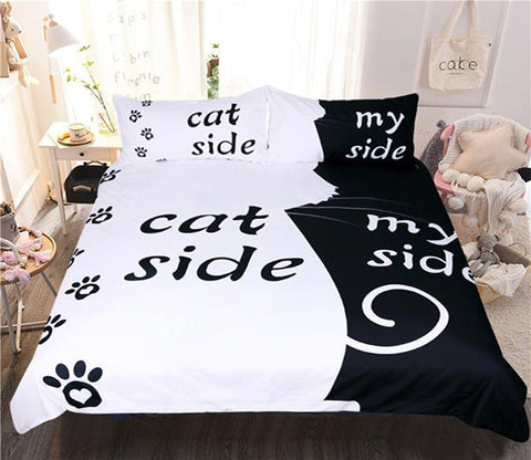 3D Background Cat 122 Bed Pillowcases Quilt Wallpaper AJ Wallpaper