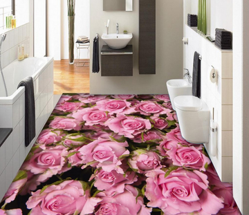 3D Rose Flower 299 Floor Mural Wallpaper AJ Wallpaper 2