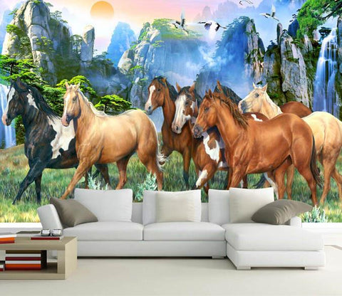 Wild Horses Wallpaper AJ Wallpaper 2