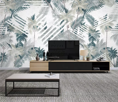 3D Coconut Tree Pattern 372