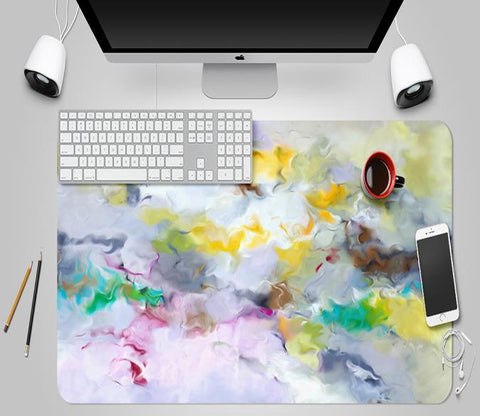3D Abstract Color 083 Desk Mat Mat AJ Creativity Home