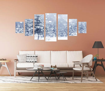 3D Snow And Ice 038 Unframed Print Wallpaper Wallpaper AJ Wallpaper